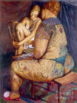 Queen Of Hearts Art Print by Cheryl Myrbo