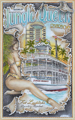 Queen Of Lauderdale Original by Mike Williams
