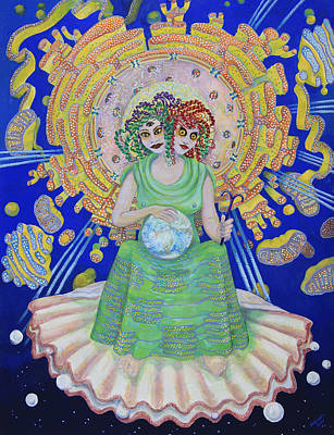 Painting - Queen Of Membranes 2 by Shoshanah Dubiner