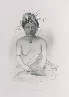 Narrative Portrait Photograph - Queen Of Rewa by British Library