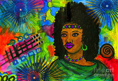 Mixed Media - The Queen Of Second Chances by Angela L Walker