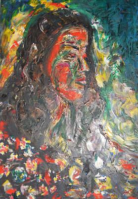 Queen Of Sheba Original by Esther Newman-Cohen