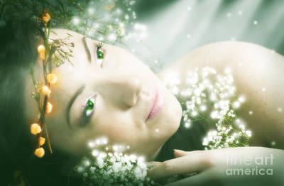 Kim Digital Art - Queen Of The Fairies by Kim Slater