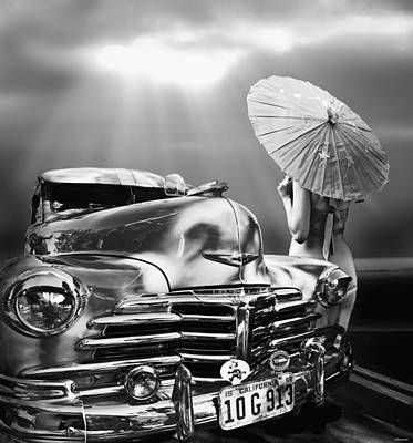 Queen Of The Highway Art Print by Larry Butterworth