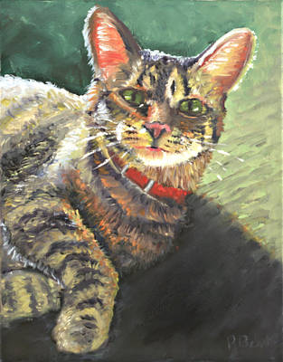 Painting - Queen Of The House by Peter Bonk