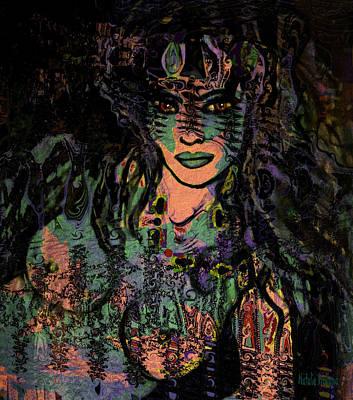 Queen Of The Jungle Art Print