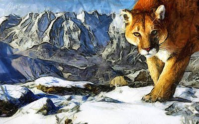 Queen Of The Mountains Original by Marina Likholat
