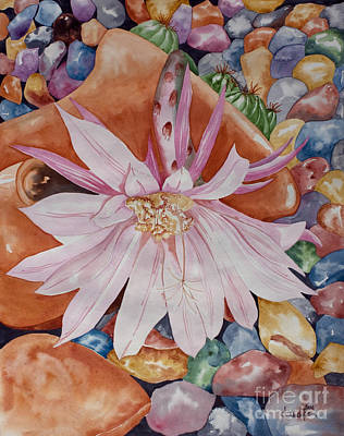 Floral Painting - Queen Of The Night I by Kandyce Waltensperger