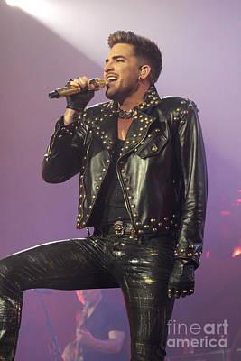 Queen Singer Adam Lambert Art Print