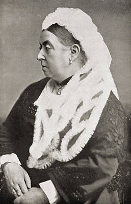 Queen Victoria Art Print by English Photographer