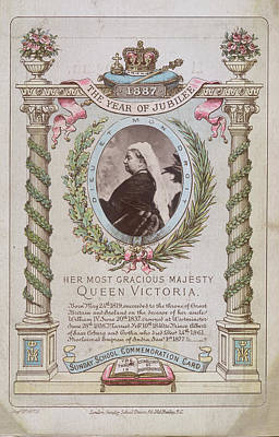 Queen Victoria Art Print by British Library
