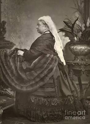 Queen Victoria, British Monarch Art Print by British Library