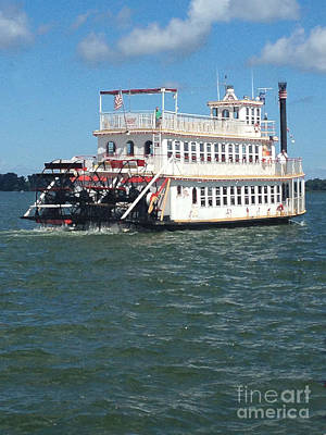 Photograph - Queen Victoria Ferry by Anne Cameron Cutri