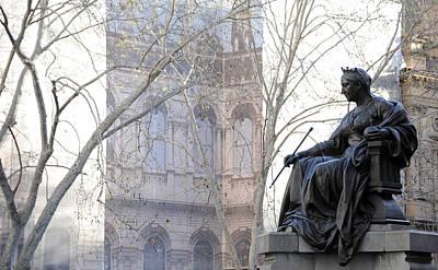 Photograph - Queen Victoria by Mark Sullivan
