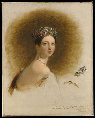 Queen Victoria Art Print by Celestial Images
