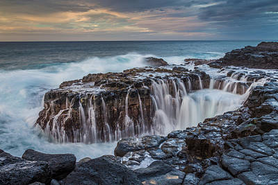 Photograph - Queens Bath Kauai by Pierre Leclerc Photography