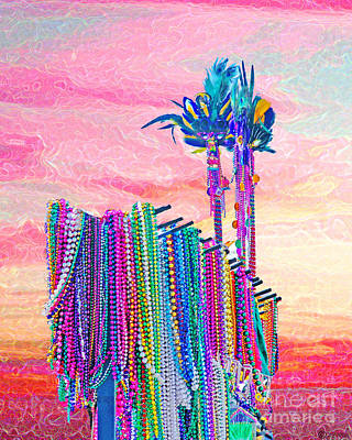 Digital Art - Queens Beads by Lizi Beard-Ward
