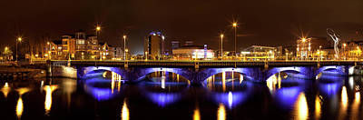 County Antrim Photograph - Queens Bridge Taken From The Queen by Panoramic Images