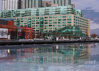 Photograph - Queens Quay Terminal Toronto by Nina Silver