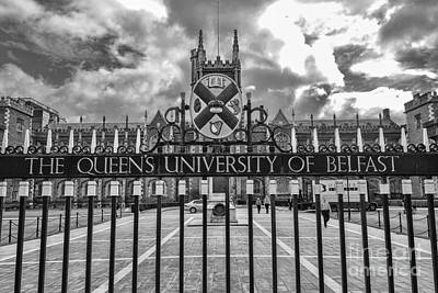 Photograph - Queens University Belfast by Jim Orr