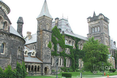 Photograph - Queens University by Frank Townsley