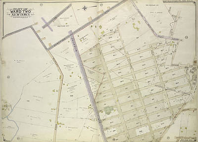 Junction Drawing - Queens, Vol. 2, Double Page Plate No. 21 Sub Plan No. 1 Map by Litz Collection