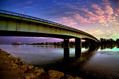 Art Print featuring the photograph Queens Way Bridge by Joseph Hollingsworth