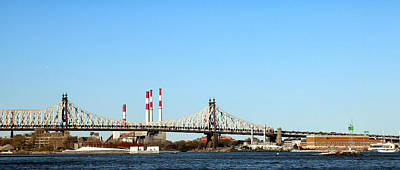 Photograph - Queensboro Bridge by Jim Poulos