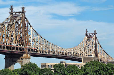 Photograph - Queensboro Bridge by Michael Dorn