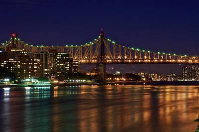 Photograph - Queensborough Bridge by Steven Mancinelli