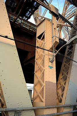 Scifi Portrait Collection - Queensborough Bridge Supports by Kathrine R Mitchell