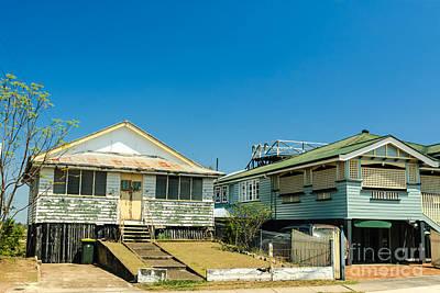 Photograph - Queenslander Houses In Brisbane - Queensland - Australia by David Hill