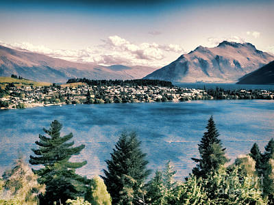 Photograph - Queenstown by Karen Lewis