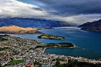 Photograph - Queenstown New Zealand by Paul Svensen