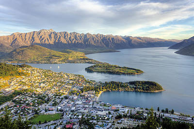 Photograph - Queenstown Sunset by Alexey Stiop