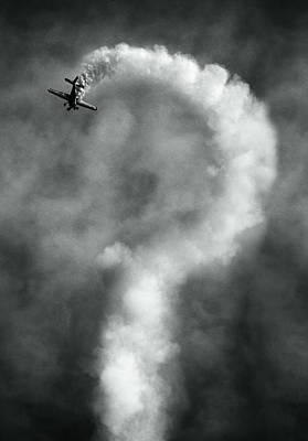 Aviation Photograph - Questions About This Manoeuvre?, Anyone?, No? by Artistname