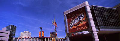 Cuyahoga Photograph - Quicken Loans Arena In Cleveland, Ohio by Panoramic Images