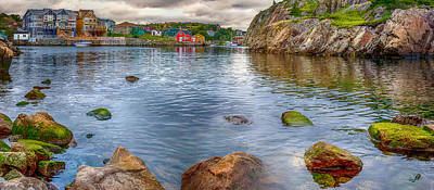 Shawn Photograph - Quidi Vidi Panorama by Shawn Hudson