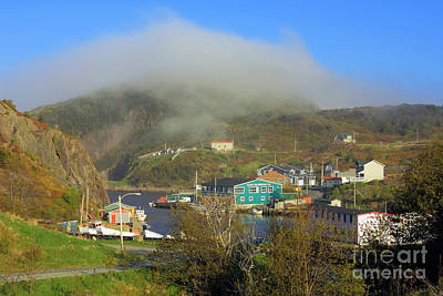 Photograph - Quidi Vidi Village by Charline Xia