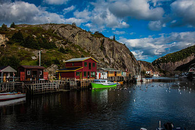 Photograph - Quidi Vidi Village by Patrick Boening