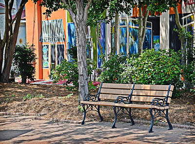 Photograph - Quiet Bench by Linda Brown