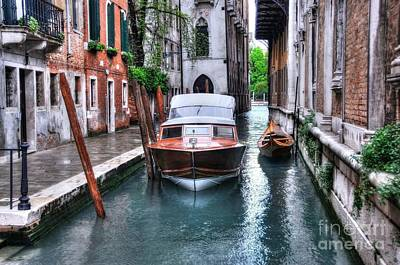 Photograph - Quiet Canal In Venice by Mel Steinhauer