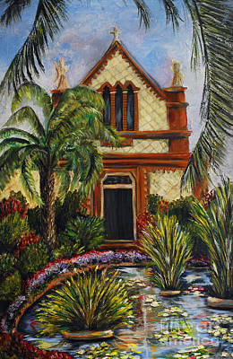 Painting - Quiet Chapel by Nancy Bradley