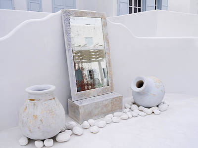 Photograph - Quiet Corner Of Mykonos Greece by Brenda Kean