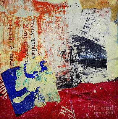 Painted Mixed Media - Quiet Day Vanished In Distance by Elena Nosyreva