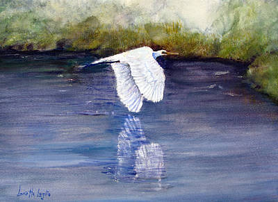 Painting - Quiet Flight by Loretta Luglio