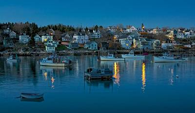 Quiet Harbor Art Print by Don Seymour