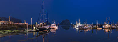 Quiet Harbor Original by Jon Glaser