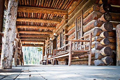 Quiet History At Camp Monaco - Yellowstone National Park - Wyoming Original by Diane Mintle