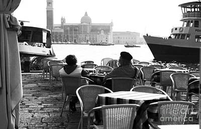 Photograph - Quiet In Venice by John Rizzuto